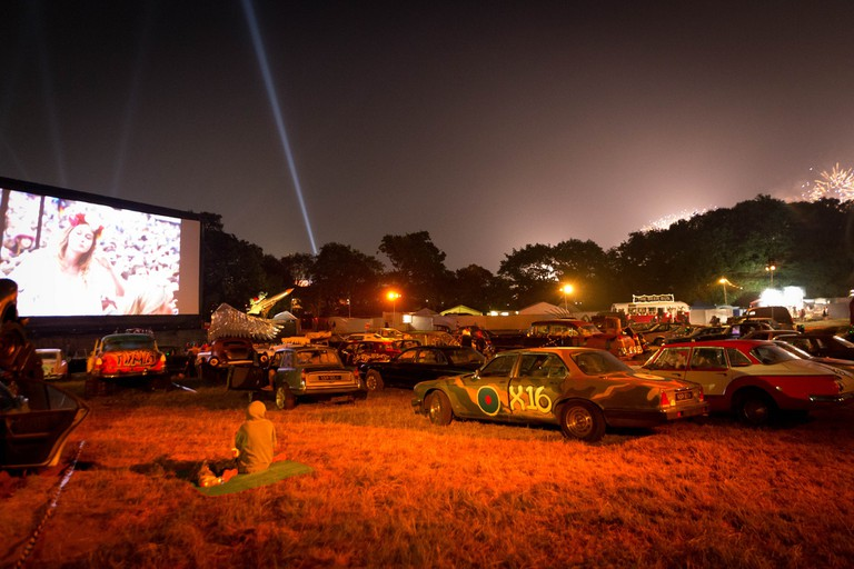 Bring it back to the old school at the drive-in cinema