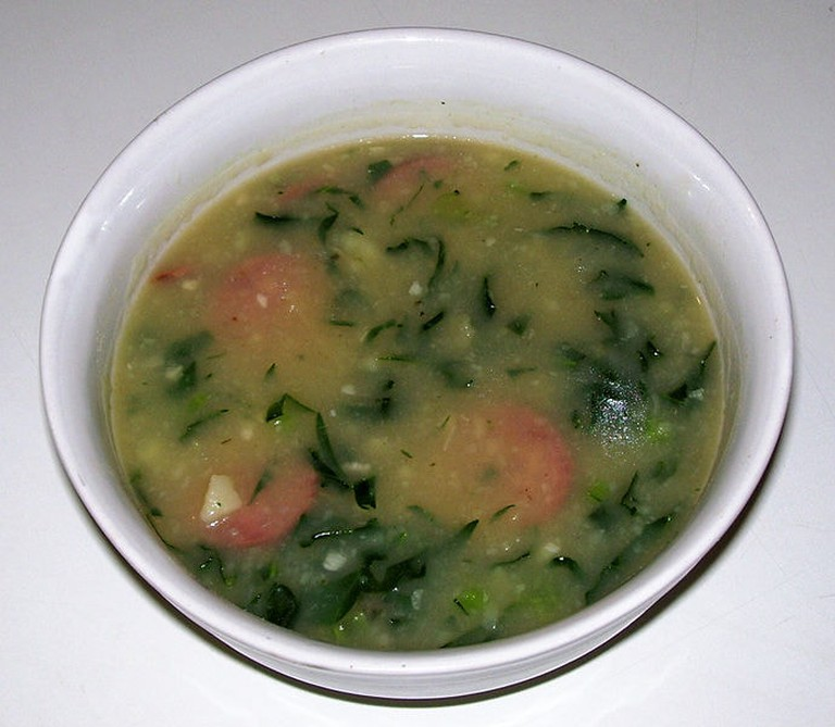 Warm and filling caldo verde