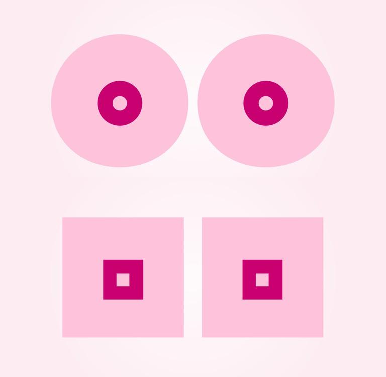 Cancerfonden breast-cancer awareness 2016 by designer, Kalle Mattsson for Cancerfonden, Sweden