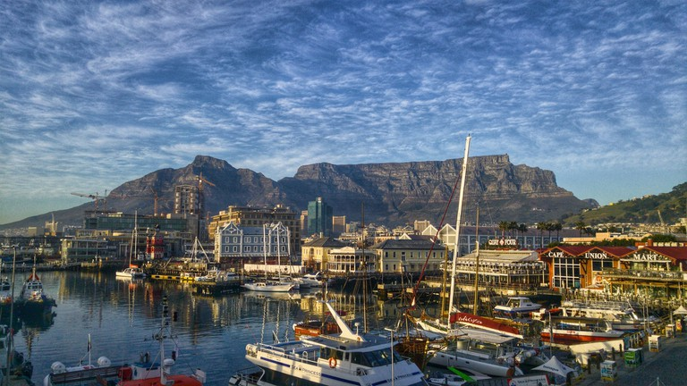 Table Mountain from the V&A Waterfront