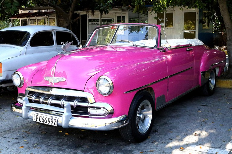 Classic cars are everywhere in Cuba