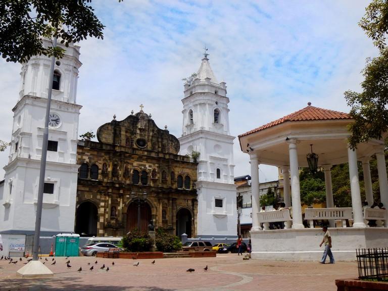 Metropolitan Cathedral in Casco Viejo, Panama City