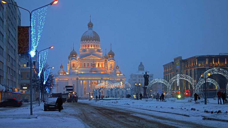 Cathedral of St.Fyodor Ushakov, Saransk