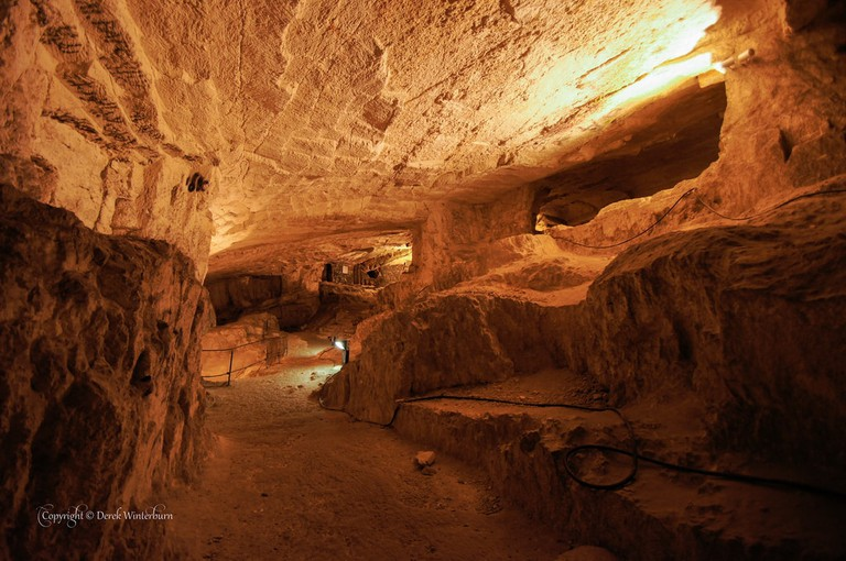 Zedekiah's Cave, Jerusalem | ©Derek Winterburn / Flickr