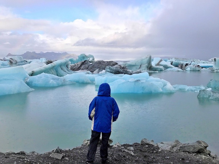 Iceland's Jökulsárlón | © Nikki Vargas
