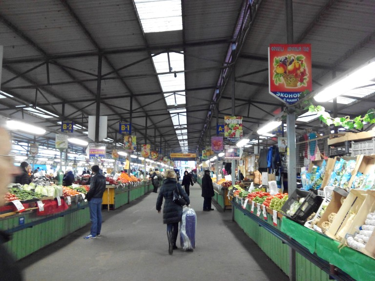 Central Market in Kaliningrad
