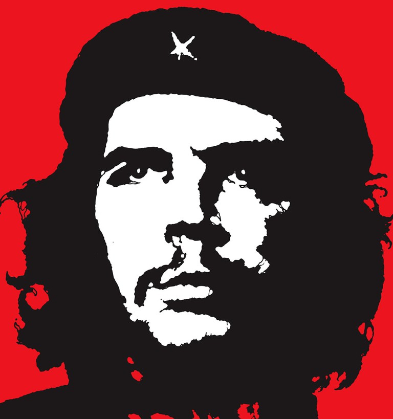 Che Guevara two tone image