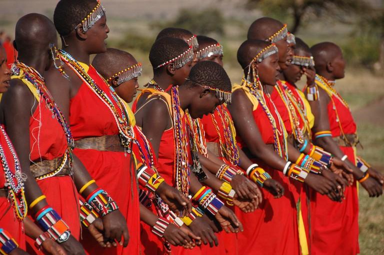 Masai women in Kenya