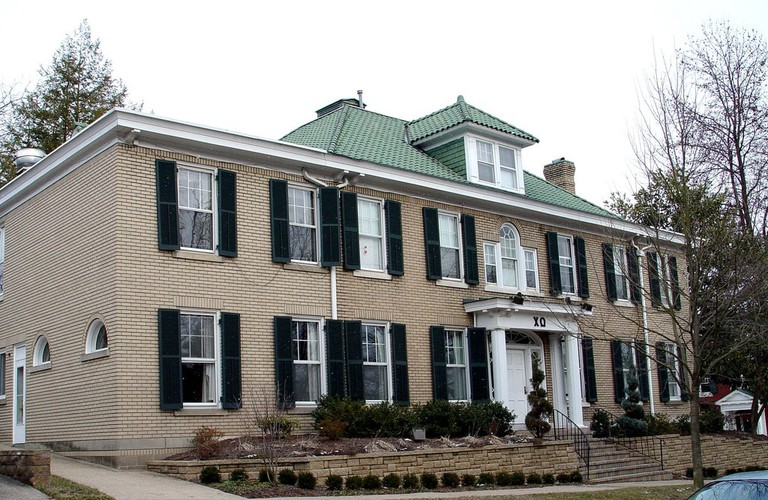 A Chi Omega sorority house in Ohio