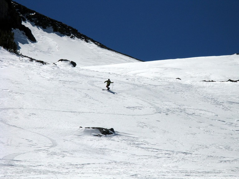 Check out the amazing off-piste terrain in Las Leñas