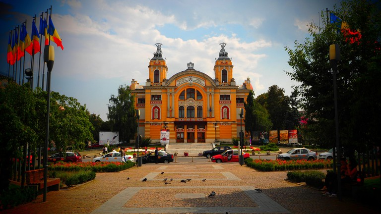 Cluj Theatre and Opera Building