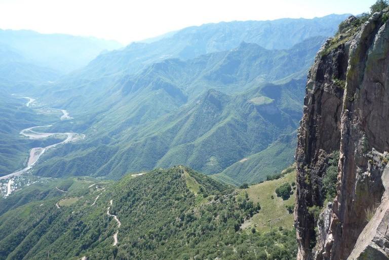 Vistas of the Copper Canyon
