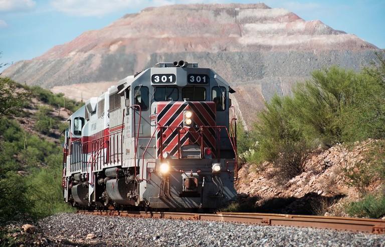 Copper Canyon train