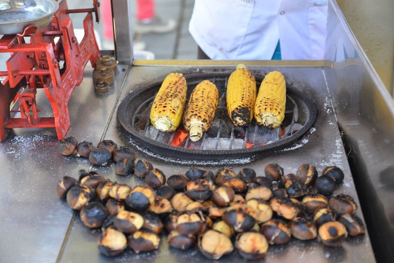 Corn and Chestnuts Istanbul