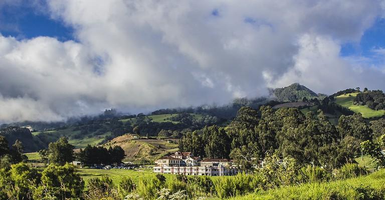 The Cartago countryside