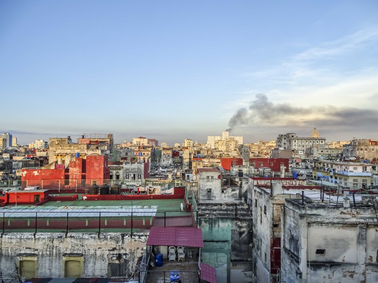 View of Havana, from atop a newly preserved historical building | © Amber C. Snider