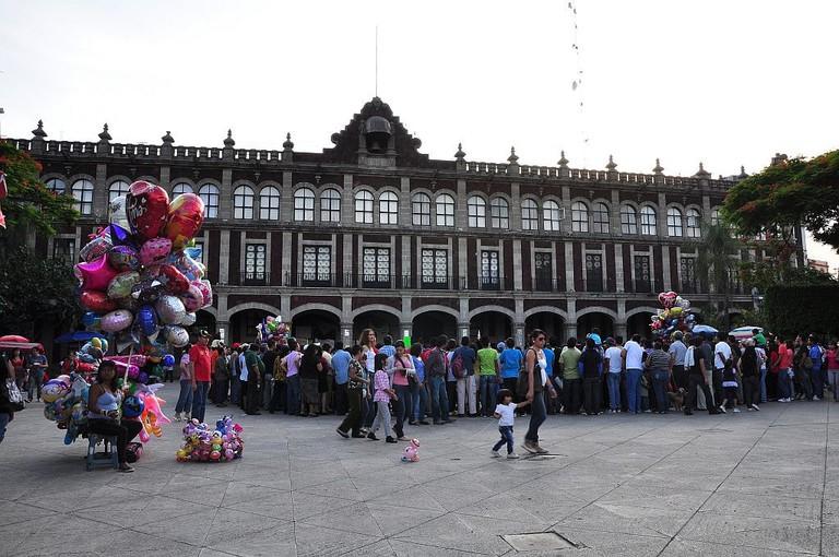 Cuernavaca's main plaza