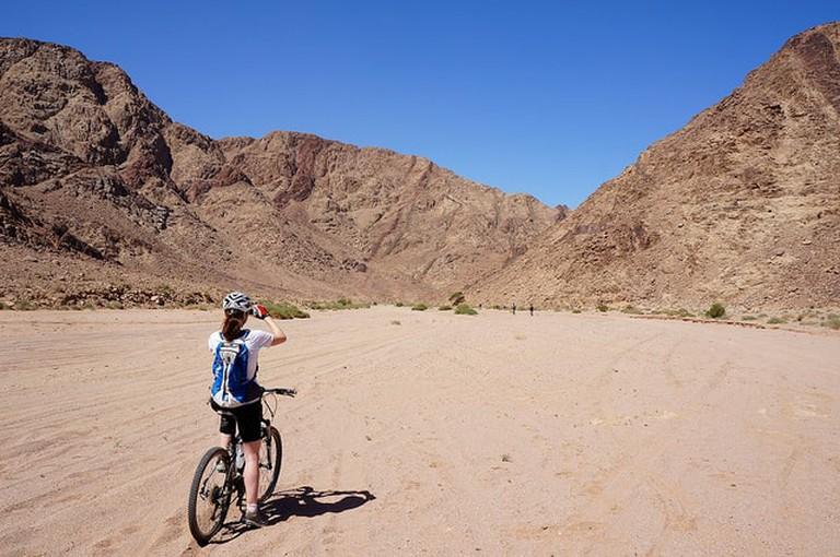 Cycling in Jordan