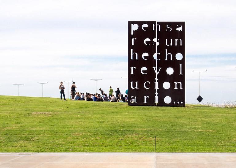 Bike, picnic and check out some art and history at Parque de la Memoria