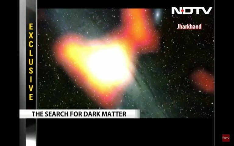 The search for dark matter in India