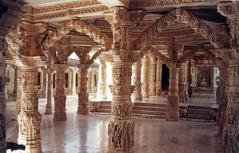 Dilwara are beautifully carved Jain temples