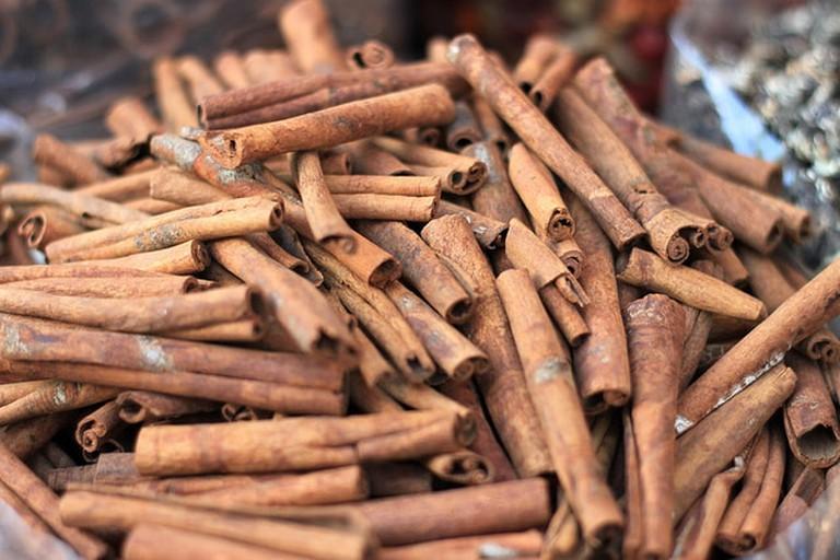 Cinnamon at the Dubai Spice Souq