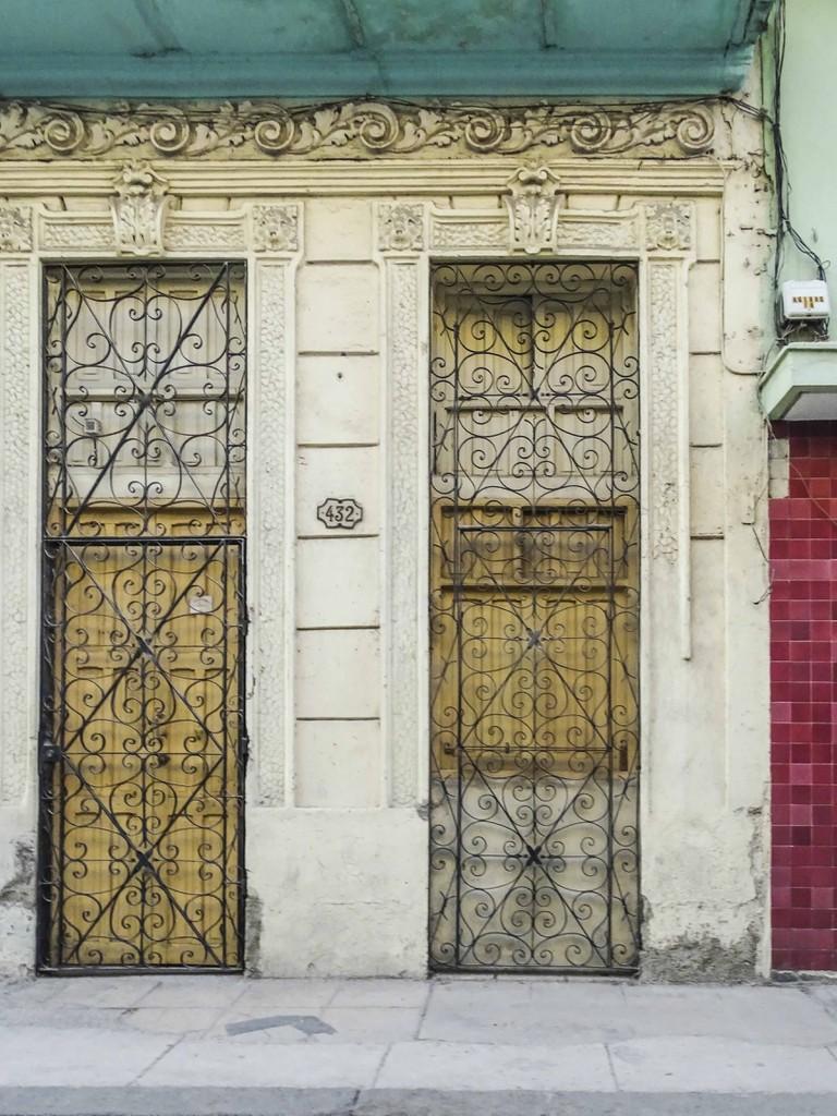 Doorway in Cuba