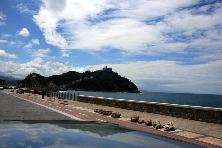 Drive along San Sebastian coast|