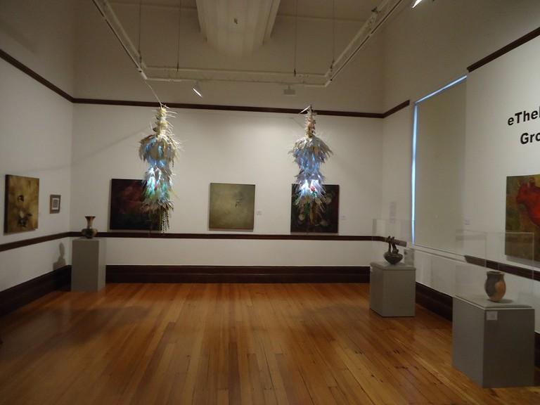 An exhibition inside DAG
