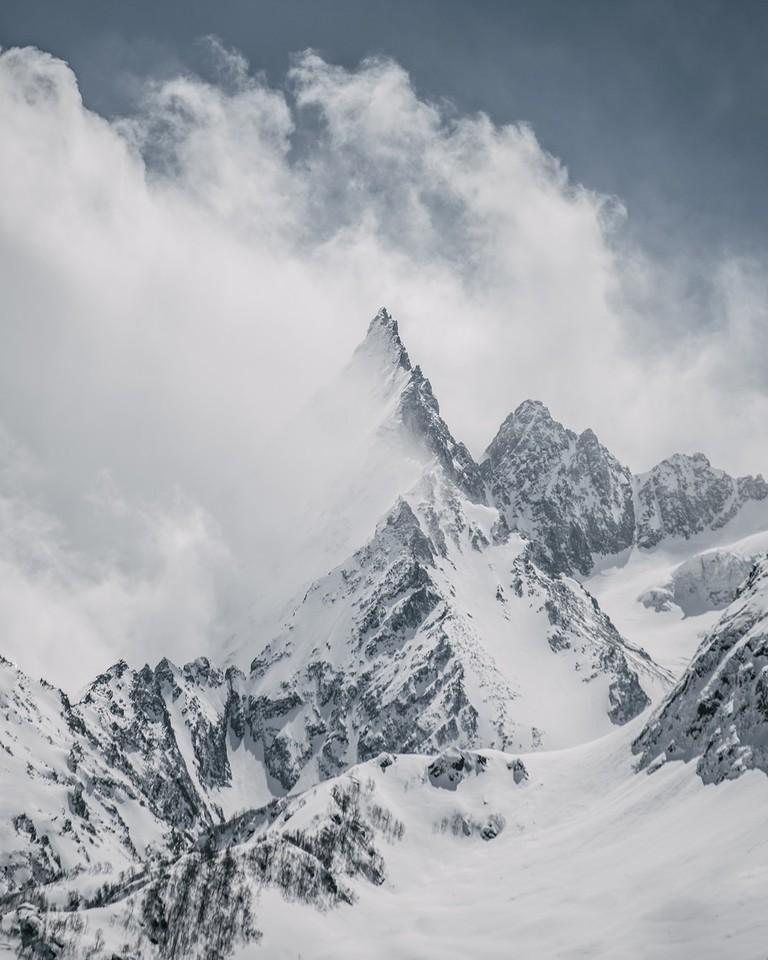 Dombai Mountains, the Republic of Karachay-Cherkessia, Russia