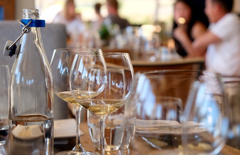Wine tasting and dining at estates is a perfect winter activity