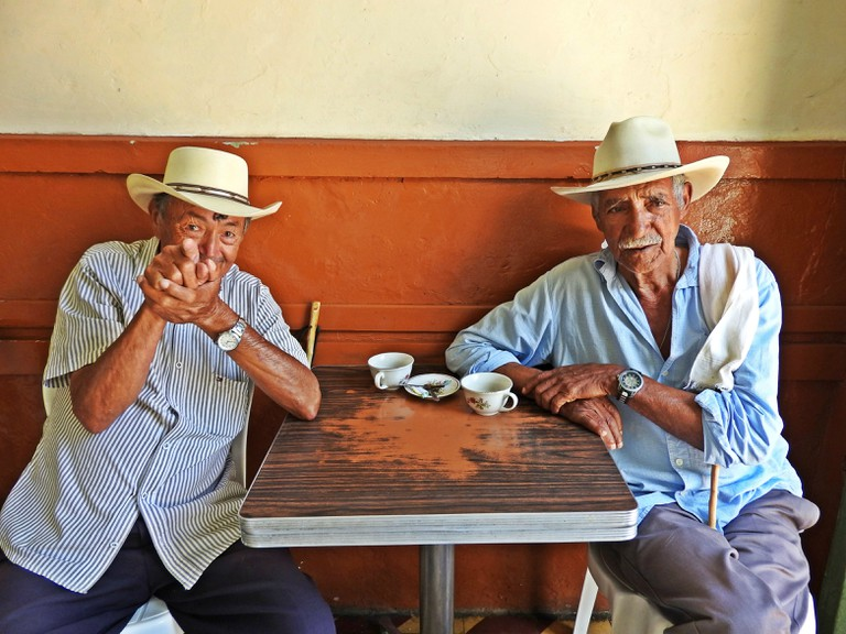 Coffee gets people together in Colombia
