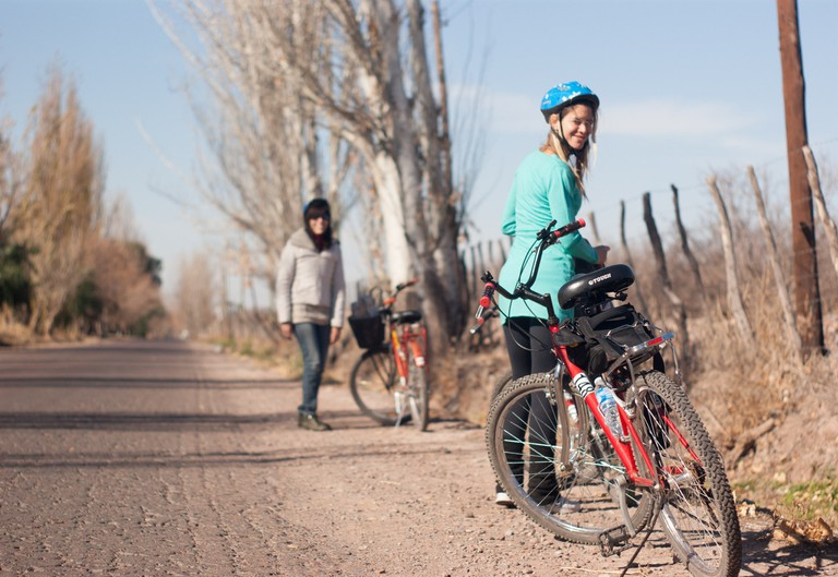 Renting bikes is one of the best ways to see Mendoza