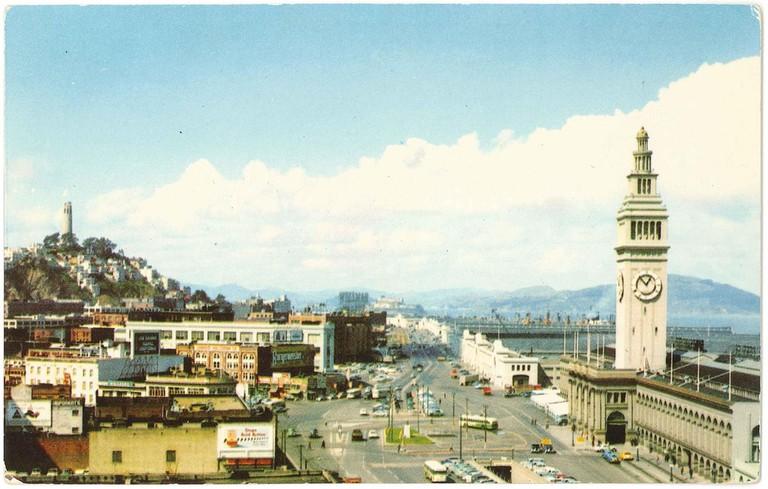 Embarcadero, San Francisco, California (circa 1954)