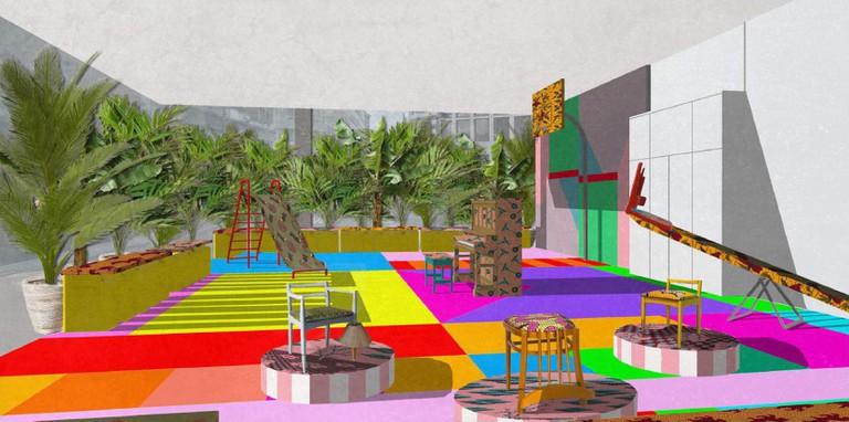 Estate Playground by Yinka Ilori x citizenM