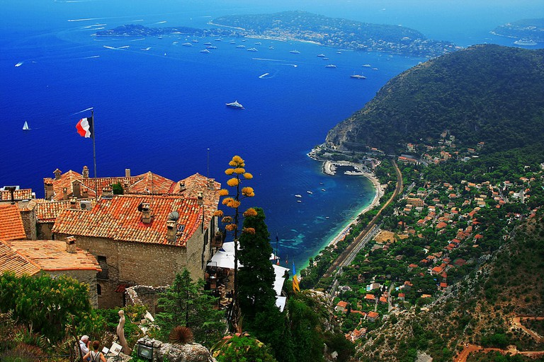 A stunning view of Eze │