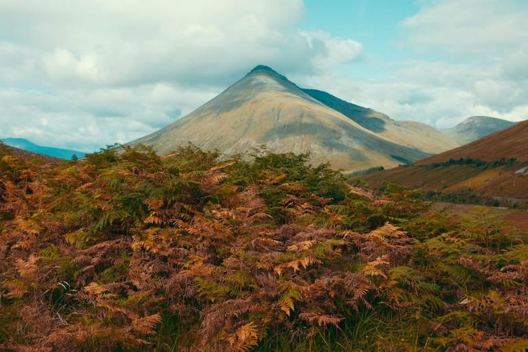 Highland Autumn Landscape