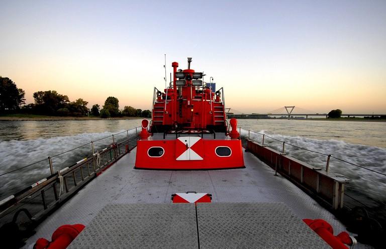 Rhine Barge