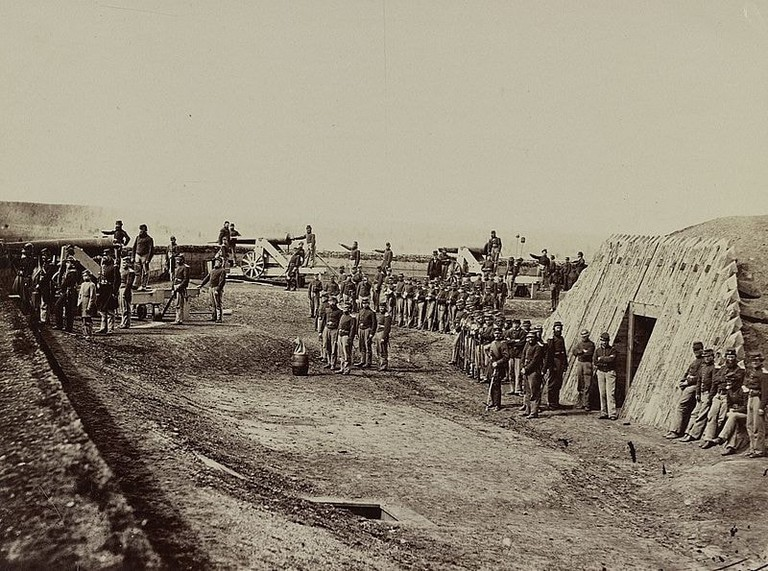 Fort Trotten in the 1860s l Wikicommons