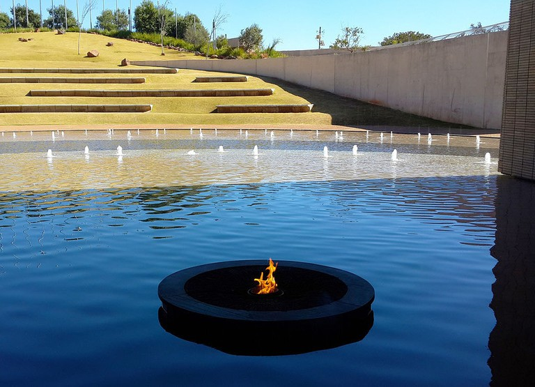 Eternal Flame, Freedom Park