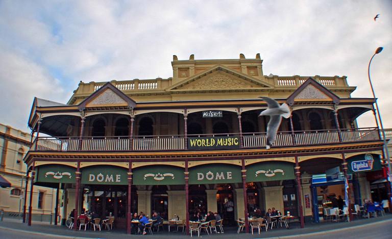 Fremantle's Cappuccino strip, image taken by Carmen Jenner
