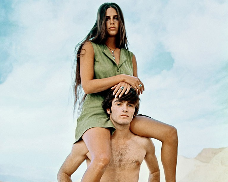 Daria Helprin and Mark Frechette in Zabriskie Point