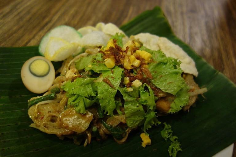 A delicious gado-gado salad in Jakarta