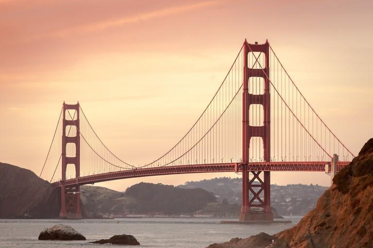 The Golden Gate Bridge | public domain / Pixabay
