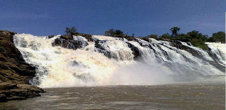 The Gurara Waterfalls
