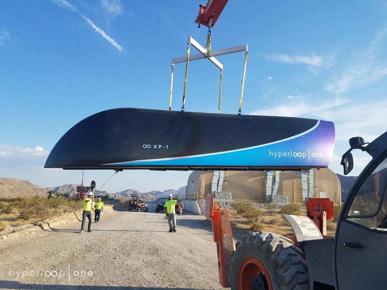 Hyperloop One XP-1 Pod