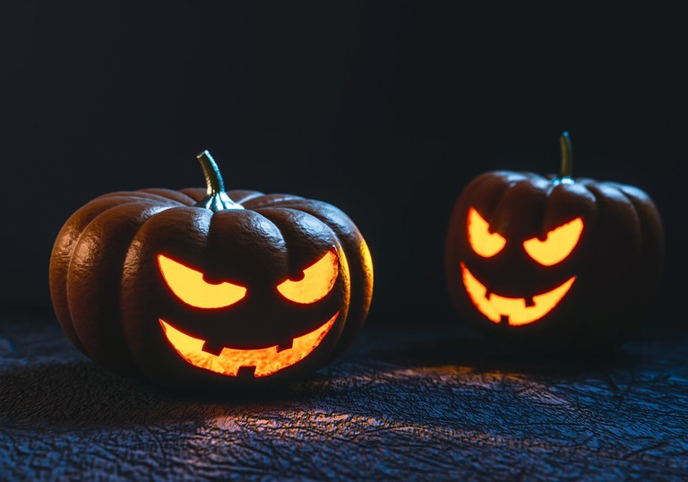 Halloween pumpkins CC0 Pixabay