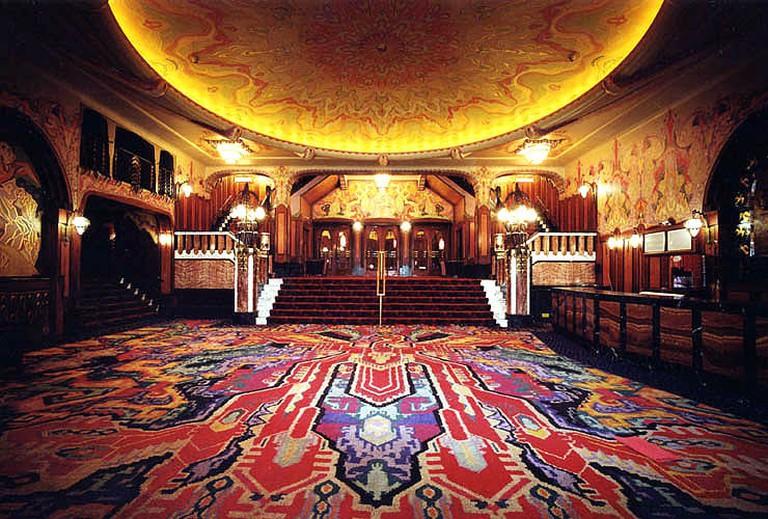 The theatre's foyer
