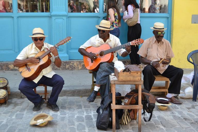 Havana Cuba Music Attitude to Life Men Caribbean