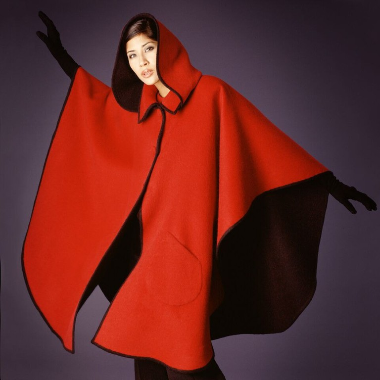 House of BCP Iconic Double Face Cape